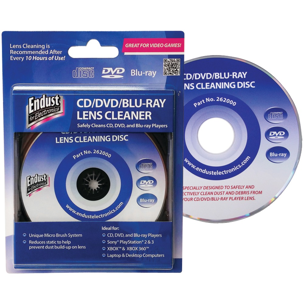 Endust Cd And Dvd And Blu-Ray Disc And Game Console Lens Cleaner